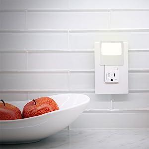 ge night light always on led flat panel