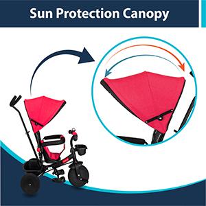 Sun Protection Canopy:
