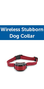 Stay & Play Stubborn Wireless Collar, Wireless Fence Collar, Pet Containment System