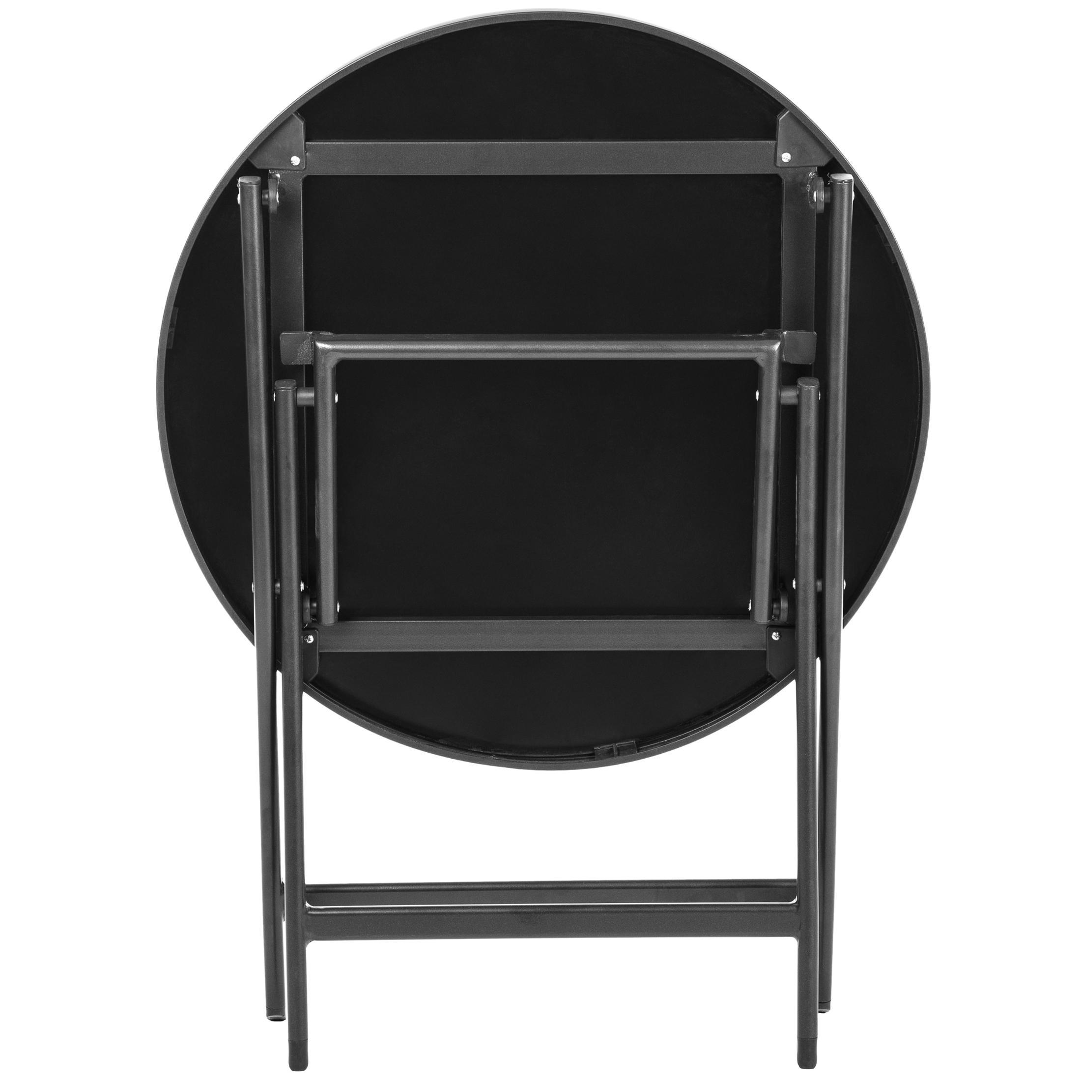 Ultranatura korfu plus mesa de terraza de aluminio for Amazon muebles terraza