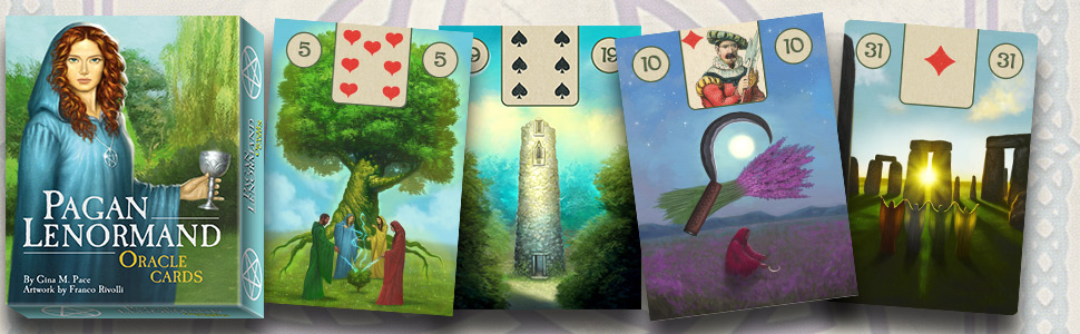 The Pagan Lenormand Oracle: Gina M. Pace, Franco Rivolli ...