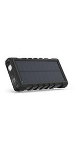 25000mAh ソーラーモバイルバッテリー RP-PB083