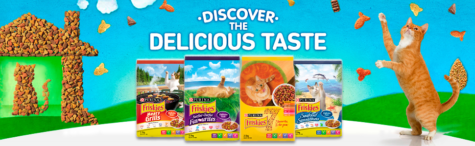 Friskies Range Shot