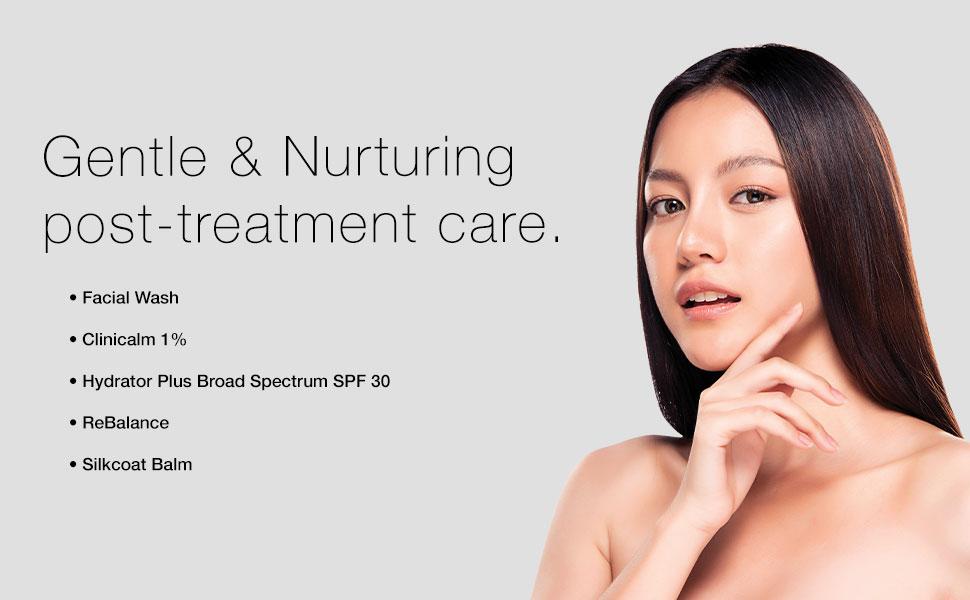 skin peel, treatment, pca skin treatment, post procedure treatment, healing, skin treatment