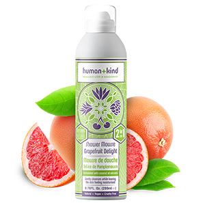 Human+Kind Shower Mousse - Grapefruit