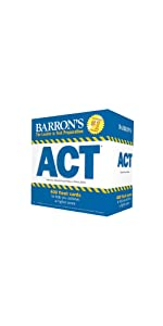 ACT; ACT exam; ACT test; ACT Flash Cards; ACT test preparation; ACT practice;