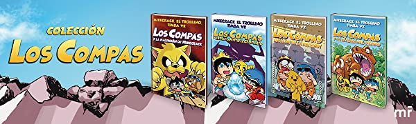 Los Compas y la maldición de Mikecrack (4You2): Amazon.es