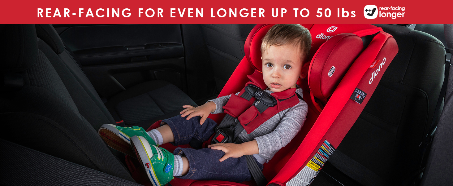 extended rear-facing car seat