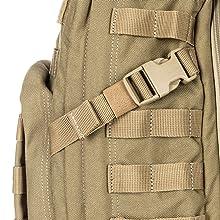 Comfortable compression straps