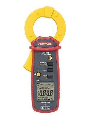 amprobe, clamp, clamp meter, leakage clamp