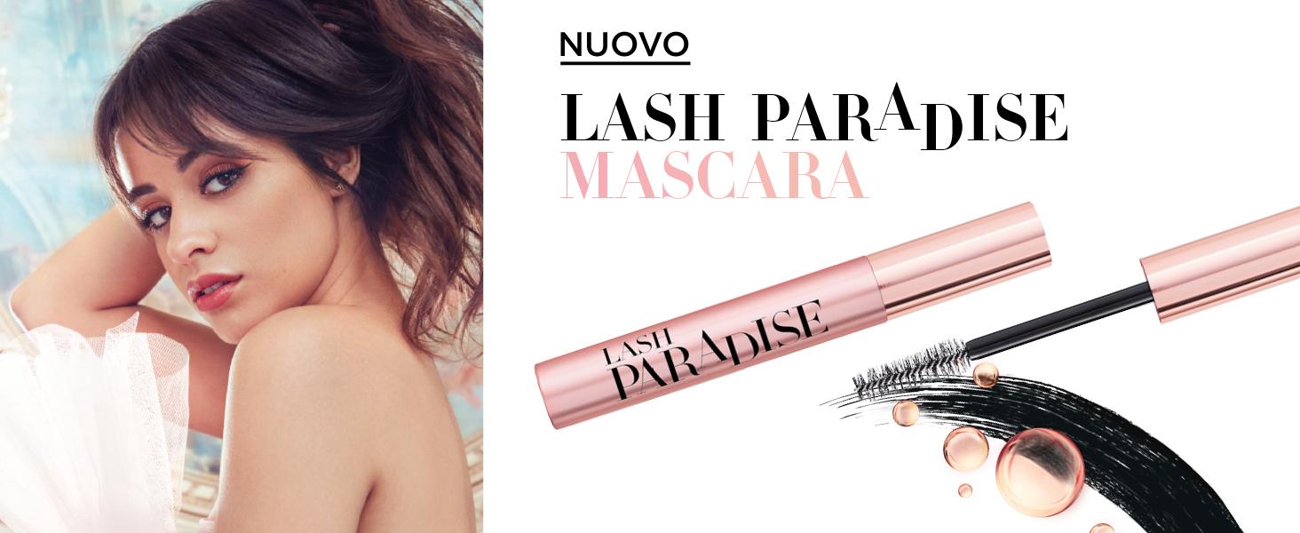 lash paradise, mascara paradise, paradise, mascara volumizzante, mascara allungante, castor oil