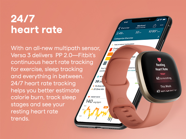 constant heart rate monitoring