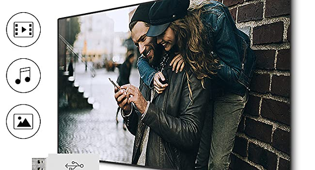 Connect and share with the Samsung Full HD N5000 TV image