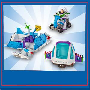 Disney Toy Story 4 Nave Espacial Buzz Lightyear, juguetes