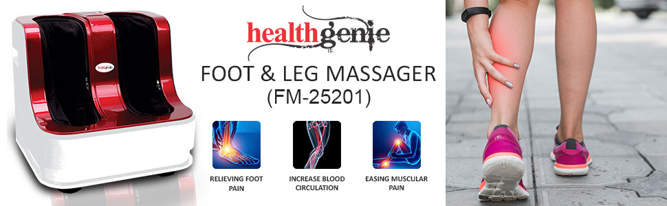 Healthgenie Foot and Leg Massager