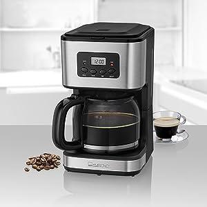 Cafetera de goteo programable para 12 a 14 tazas de café