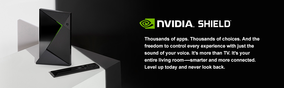 NVIDIA SHIELD TV Pro | Home Media Server - 945-12571-2500-010
