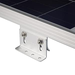 Amazon Com Renogy Solar Panel Mounting Curved Z Bracket