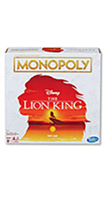 monopoly, lion king