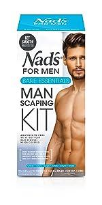Nad's For Men Manscape Kit