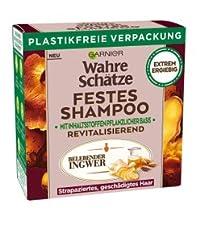garnier, green beauty, nachhaltig, wahre schätze, wahre schaetze, feste shampoo, solid