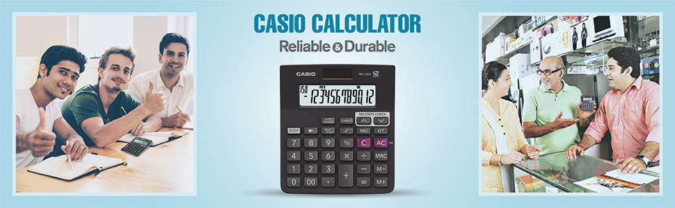 Casio Calculator; Reliable and durable