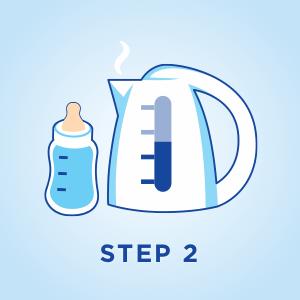 Preparation Information for Aptamil Gold+ Baby Formula Colic & Constipation Step 2