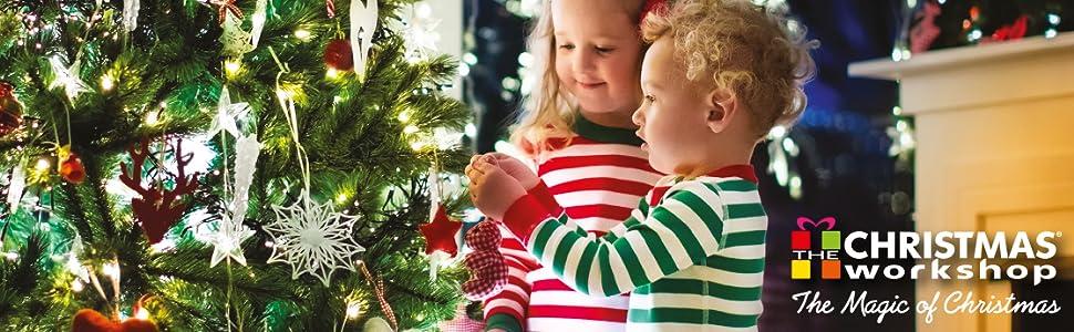 The Christmas workshop