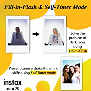 Fill-in-Flash & Self-Timer Mode