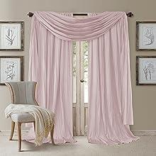 athena window drape and valance set