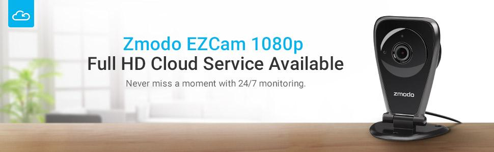 Zmodo EZCam Pro - 1080p HD Wireless Kid and Pet Monitoring Security Camera