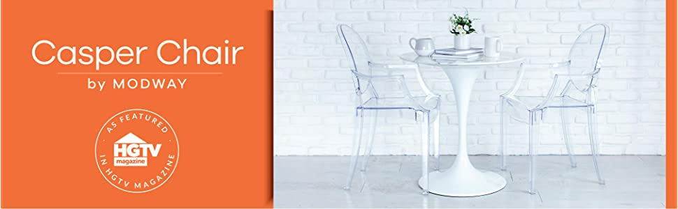 Louis Chair, Louis XVI, Ghost Armchair, Philippe Starck, Poly and Bark, Casper, Modway, Lexmod