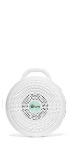 yogasleep rohm portable travel sleep sound machine white noise fan