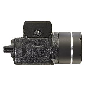 Streamlight 69220 TLR-3 Tactical Light, Black, side view.