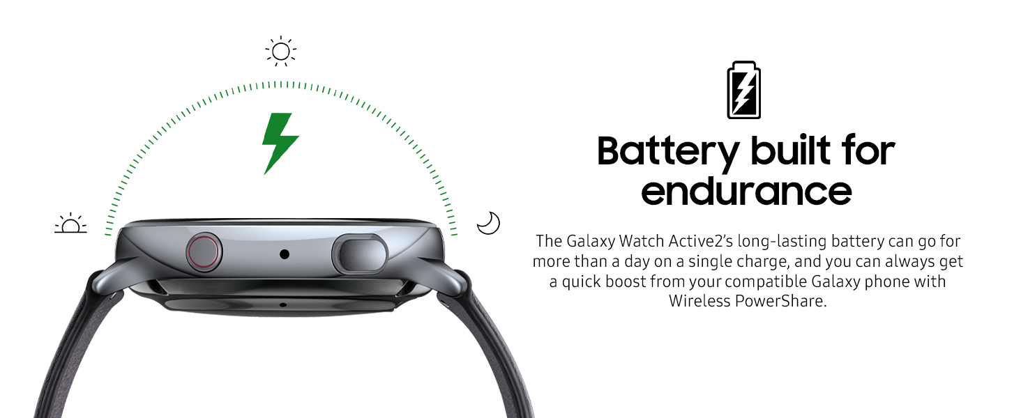 Samsung Galaxy Watch Active2 44 mm Gümüş LTE