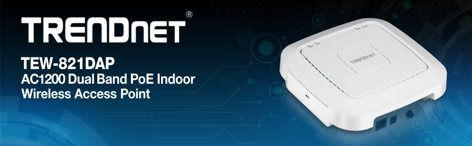 300 Mbp Wifi N B... TRENDnet AC1200 Dual Band PoE Access Point 867 Mbps WiFi AC