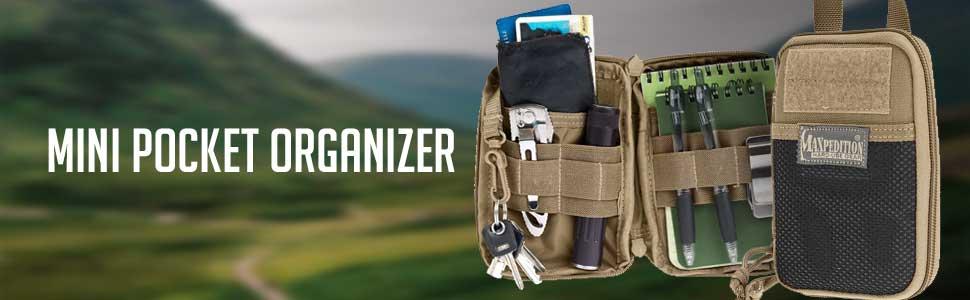 Mini pocket organizer