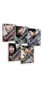 【Amazon.co.jp限定】ミッション:インポッシブル 1~5シリーズセット スチールブック仕様4K ULTRA HD