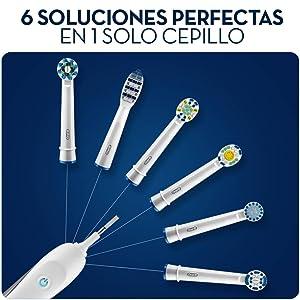 Los cabezales de recambio para cepillos de dientes Oral-B son compatibles con ...