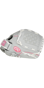Sure Catch Youth Softball Glove, 10.5 inch, Left Hand Throw