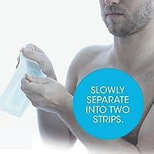 Nad's For Men Body Wax Strips