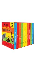 My First Library English Hindi Boxset
