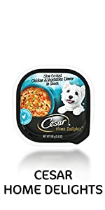 Cesar Home Delights, Meaty Dog Food for Small Dogs, Food for Little Dogs, Home Cooked Meal