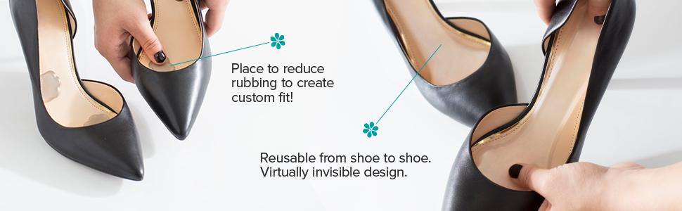 how to keep feet from sliding forward in heels