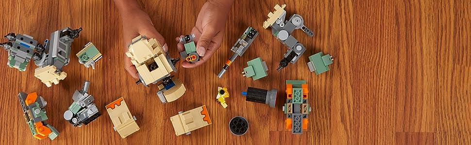 Overwatch heroes, LEGO
