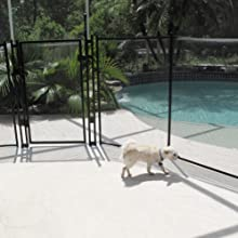 Amazon Com Sentry Safety Pool Fence Visiguard 4 Tall 12