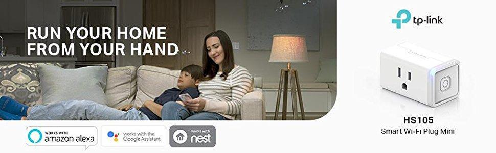 Amazon Canada] TP-LINK Smart Wi-Fi Plug Mini - HS105