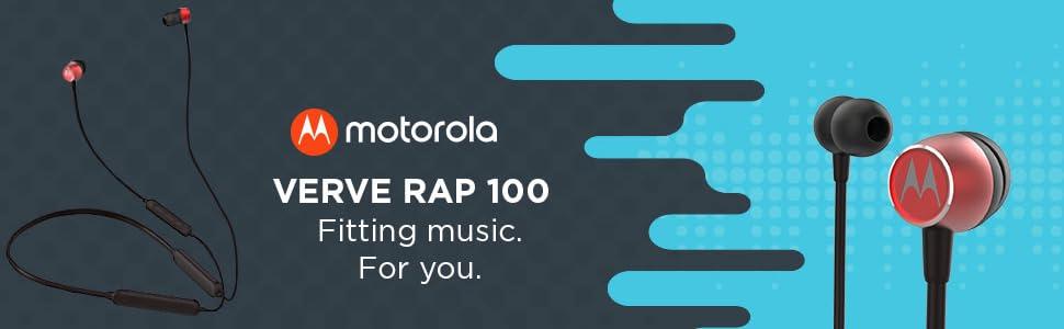 Motorola Verve Rap 100