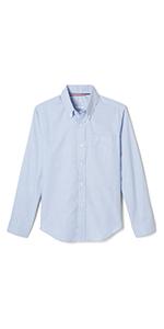 uniform boys dressy shirt button-down button-up