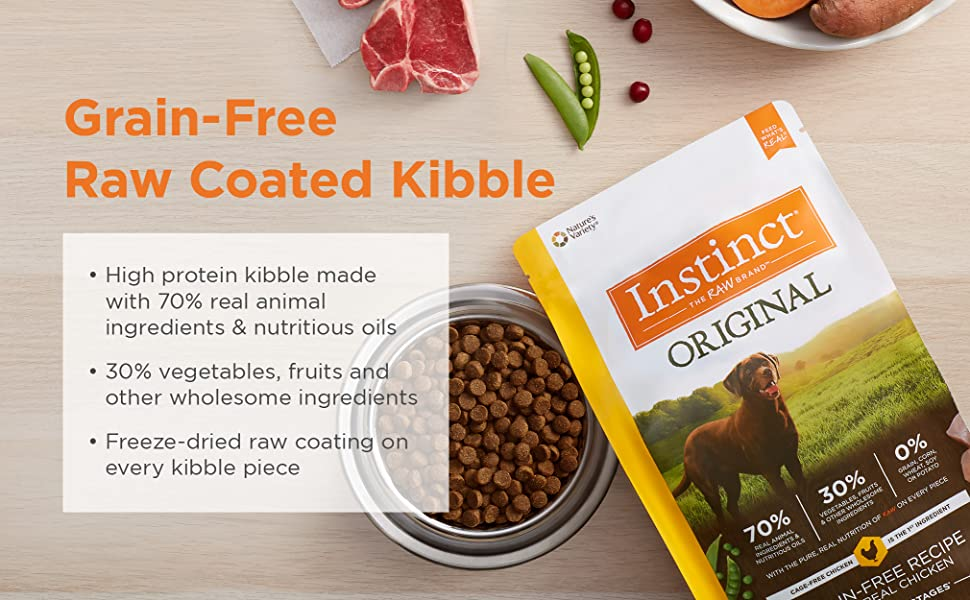 Best Grain Free Dog Food 2021 Amazon.com: Instinct Original Grain Free Recipe with Real Rabbit